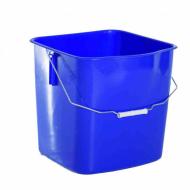 Ведро для уборочной тележки 25л, синее
