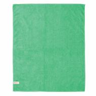 Тряпка для мытья пола из микрофибры, СУПЕР ПЛОТНАЯ, 70х80 см, зелёная, LAIMA