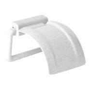 Держатель для туалетной бумаги, пластиковый, цвет мраморный/белый, IDEA, М 2225