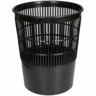 Корзина для бумаг BRAUBERG сетчатая, 14 л, черная
