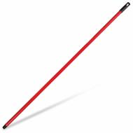 Черенок 120 см, еврорезьба, металлопластик, красный - IDEA М 5145