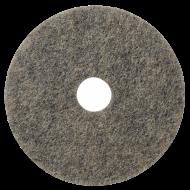 Размывочный круг (ПАД), 17 дюймов, натуральный ворс - FIBRATESCO