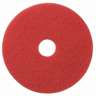Размывочный круг (ПАД), 17 дюймов, красный - FIBRATESCO