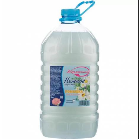 Жидкое мыло антибактериальное - Жерминаль Ромашка ПЭТ 5л